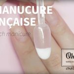 French Manicure with Oh Blush dip powder system