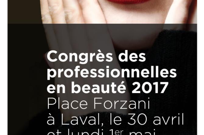 congres professionnelles beauté 2017 laval